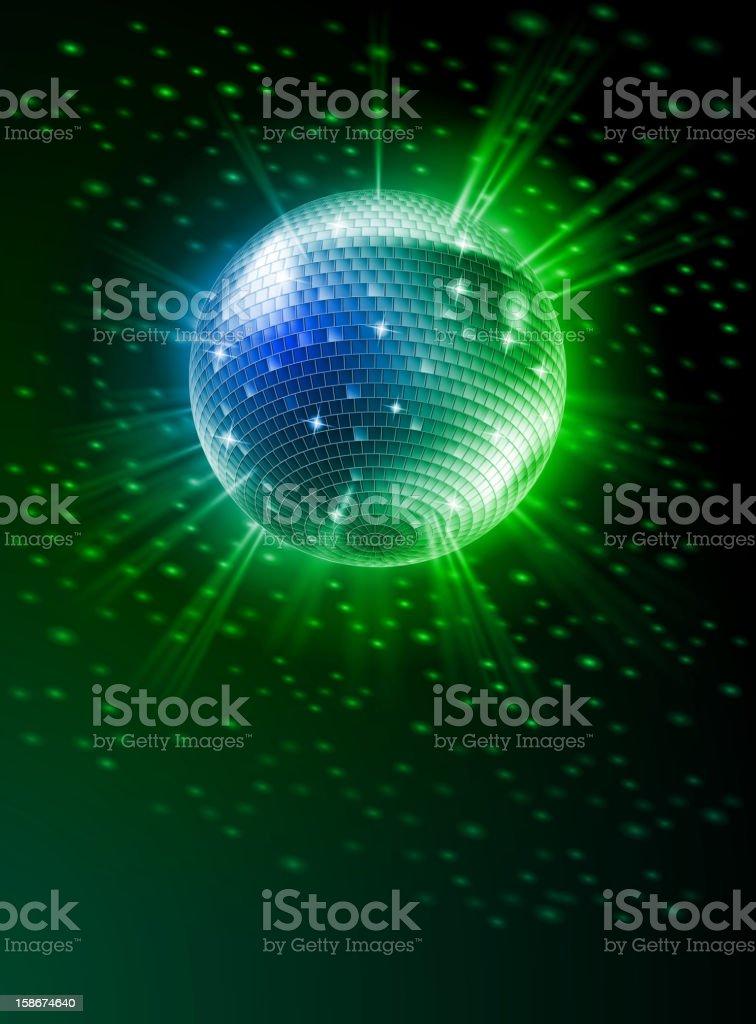 Mirror Disco Ball royalty-free mirror disco ball stock vector art & more images of ball