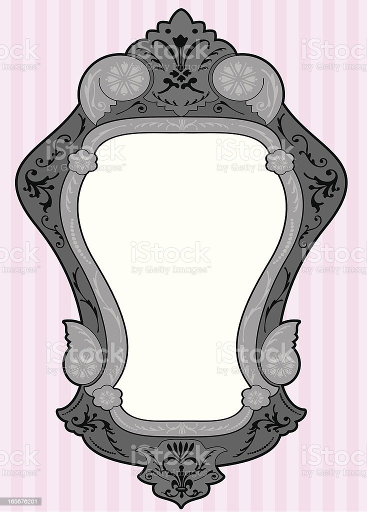 Mirror Frame royalty-free mirror frame stock vector art & more images of decoration