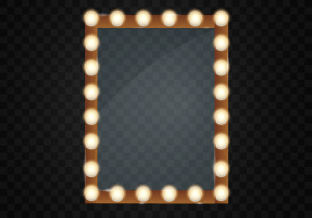 Best Mirror Frame Illustrations Royalty Free Vector