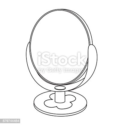 coloring pages mirror - photo#34