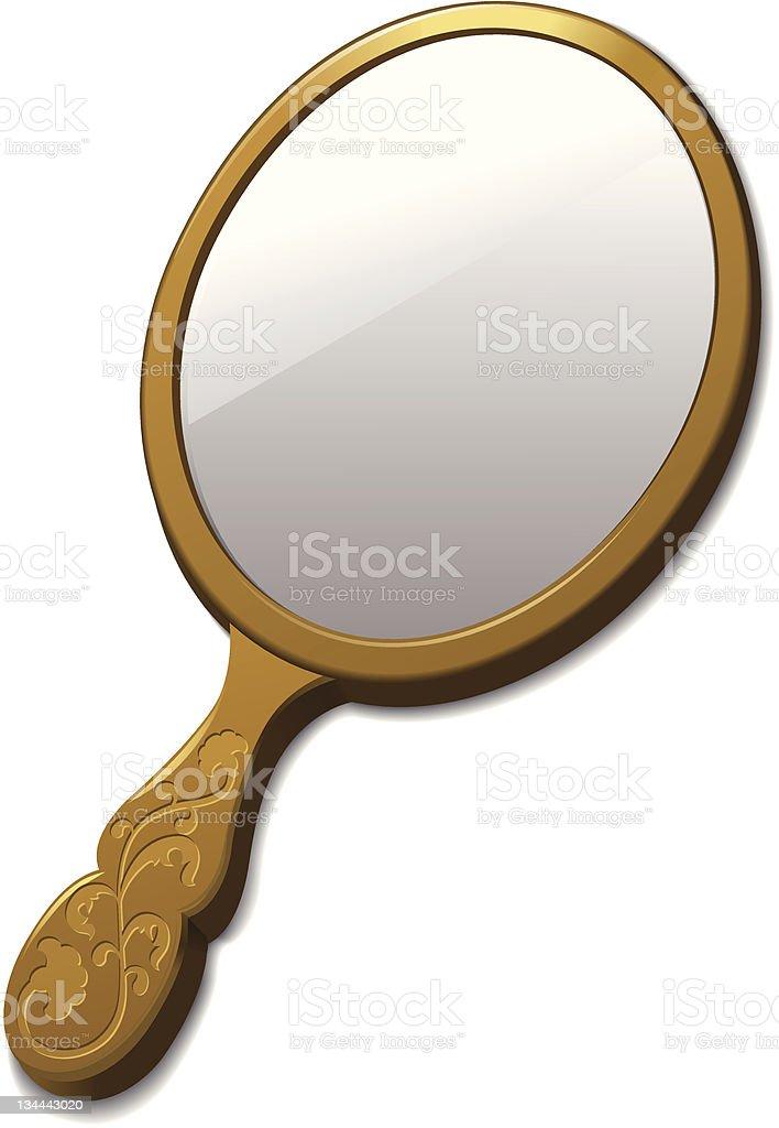 royalty free hand mirror clip art vector images illustrations rh istockphoto com mirror clip art in word vintage mirror frame clipart