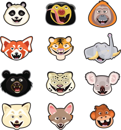 Misc. Animal Head Page