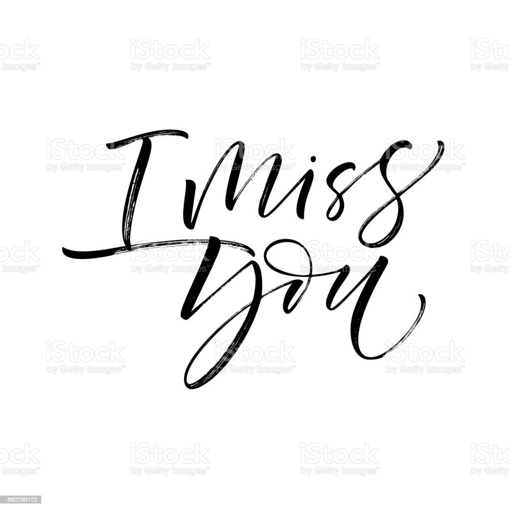 i miss you card stock vector art more images of abstract 882299122