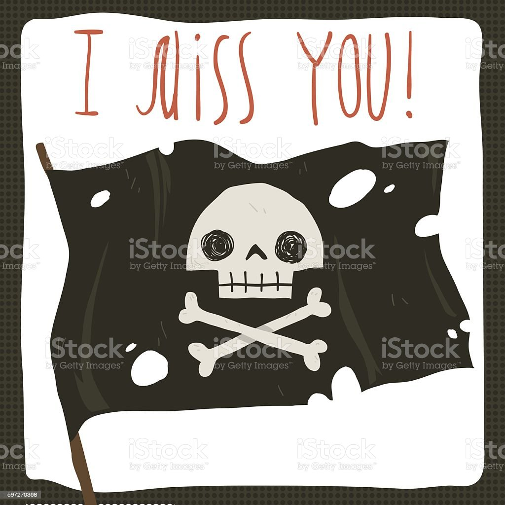 I miss you funny halloween card. i miss you funny halloween card – cliparts vectoriels et plus d'images de amour libre de droits