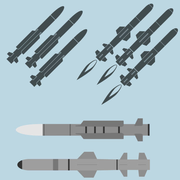 Royalty Free Nuclear Missile Clip Art, Vector Images ...