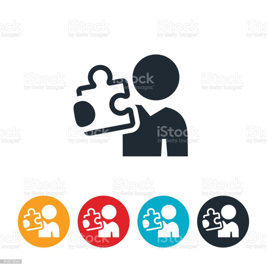 royalty free missing piece of the jigsaw clip art vector