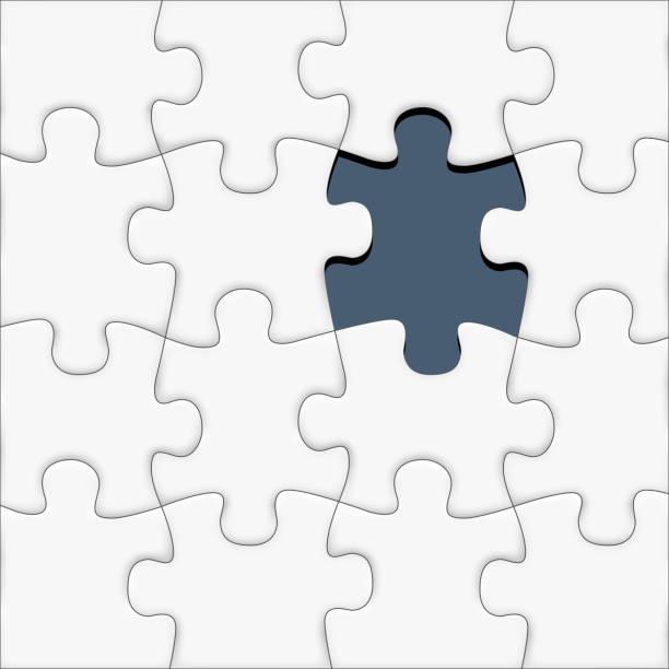 missing piece of the puzzle - 不完整 幅插畫檔、美工圖案、卡通及圖標