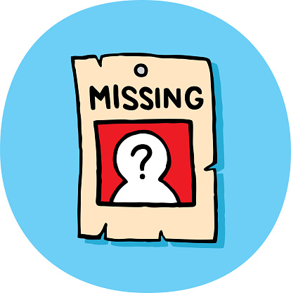Missing Poster Doodle