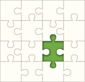 Missing Puzzle Piece Template