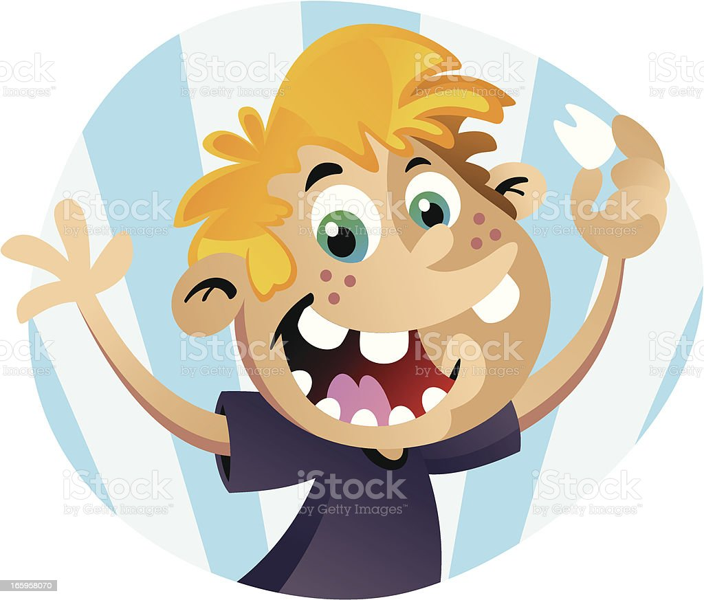 Missing Tooth vector art illustration