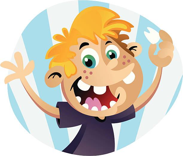 Missing Tooth vector art illustration