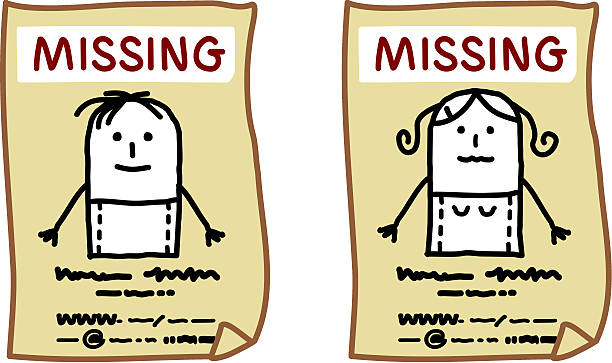 Best Missing Person Illustrations, Royalty-Free Vector ...