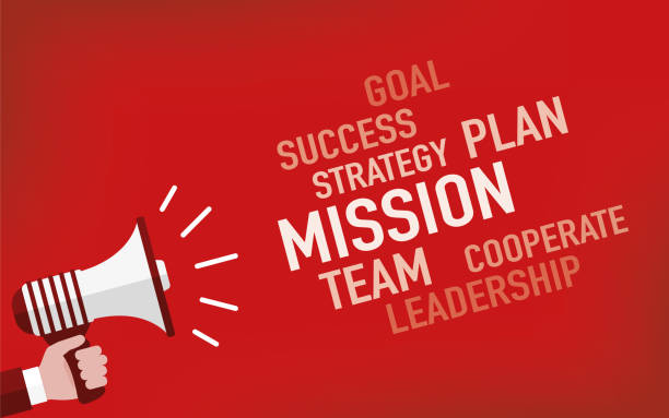 Mission Concept Mission Concept determination stock illustrations