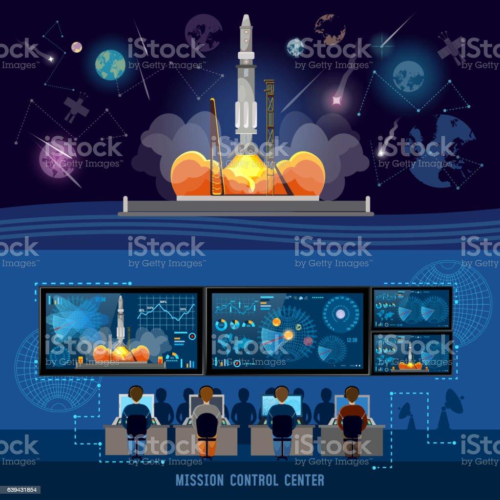 mission control illustrations  royalty-free vector graphics  u0026 clip art