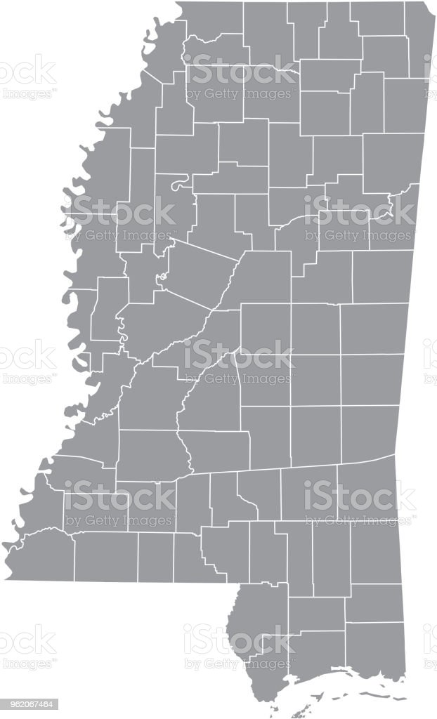 Mississippi County Map Vector Outline Gray Background Map Of ... on georgia state map, blank us county map, virginia county map, gwinnett county zip code map, mississippi county map, georgia county map, religion by state map, half us population map, large us county map,