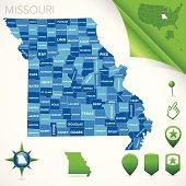 Missouri County Map