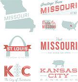 Missouri Typography