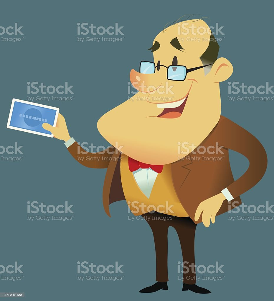 Mister Credit royalty-free mister credit stock vector art & more images of balding