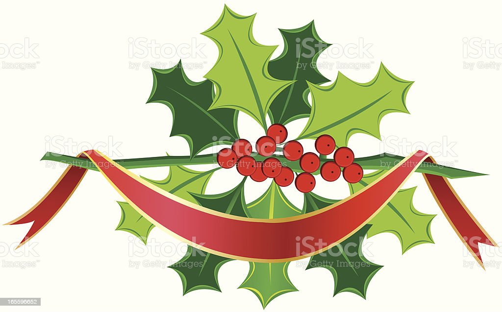 Mistletoe with Red Ribbon royalty-free mistletoe with red ribbon stock vector art & more images of berry fruit