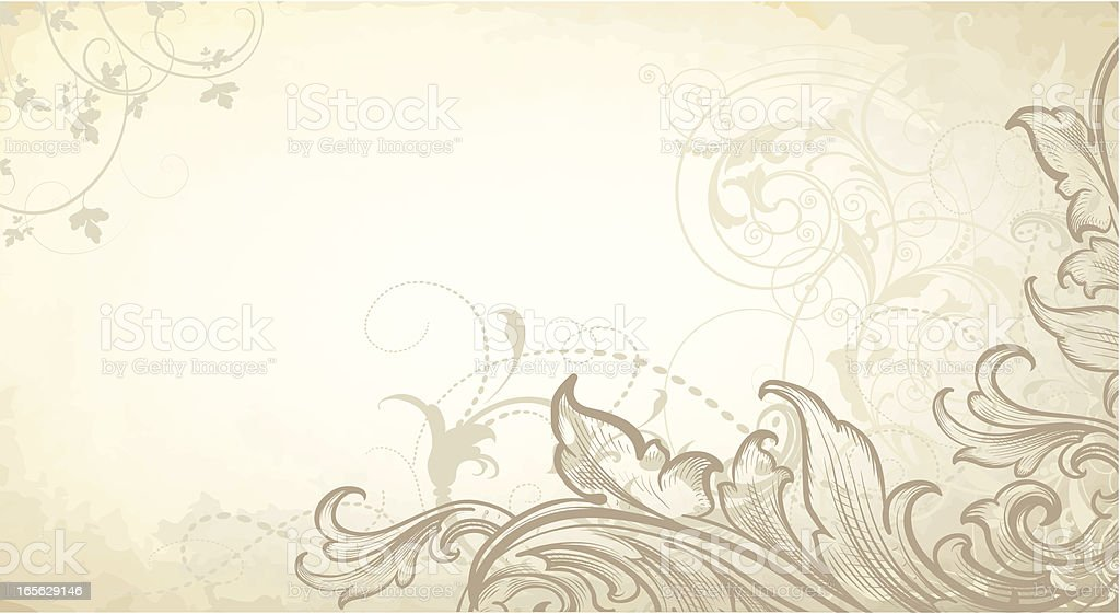 Misty Scroll Banner engraved scrollwork royalty-free misty scroll banner engraved scrollwork stock vector art & more images of abstract
