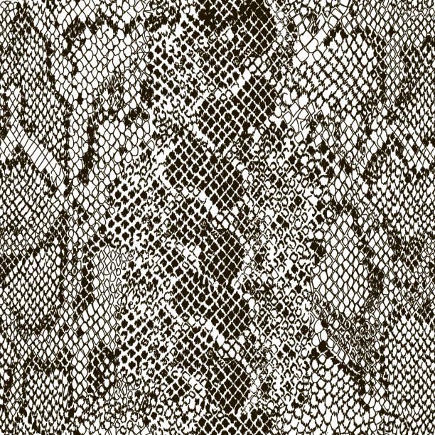 Mix animal skin. Snake Mix animal skin. Prints Snake. Safari africa seamless pattern, vector design for fashion, fabric and all prints on white background snake stock illustrations