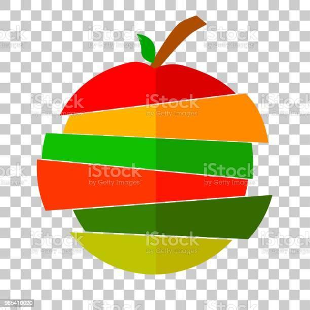 Vetores de Mix De Frutas e mais imagens de Alimentação Saudável