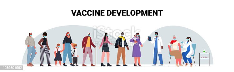 istock mix race patients in masks waiting for covid-19 vaccine coronavirus prevention medical immunization campaign 1289801592