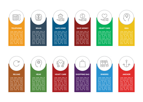 12-12 Mix Web Line Icons with name for Website, Application And Software Designing.