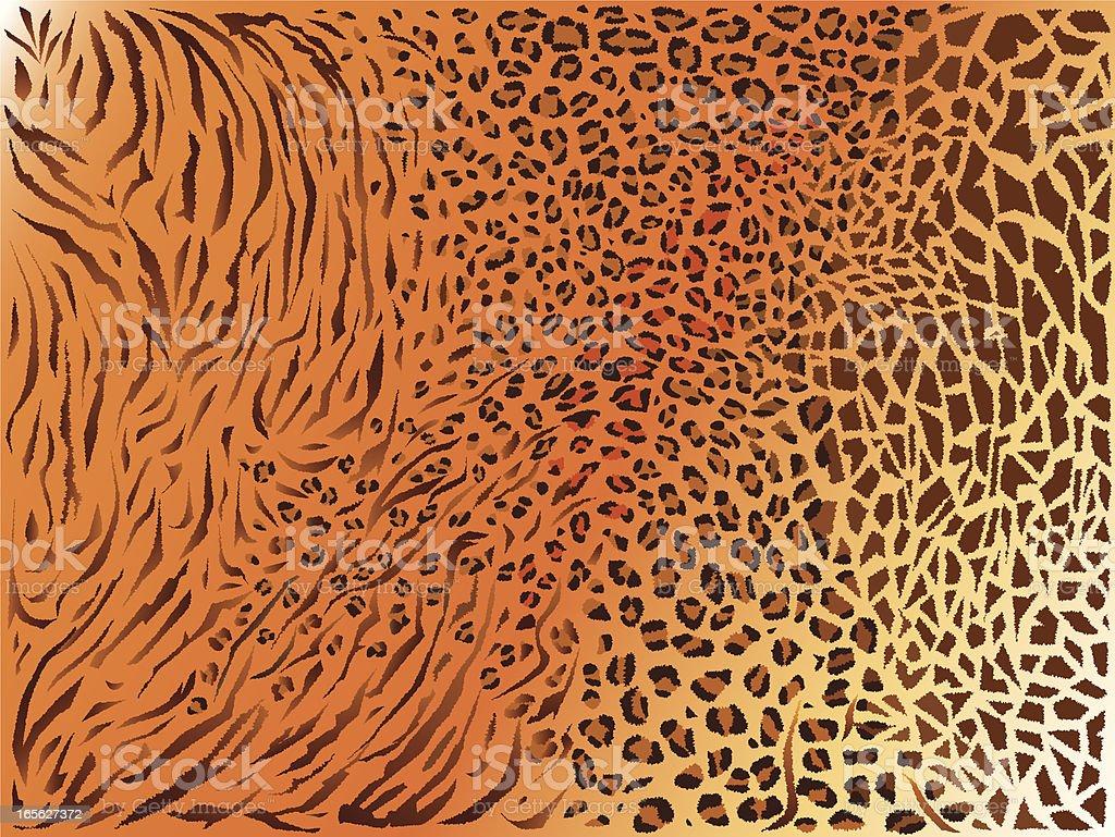 Textura de padrão de pele mista backgraund - ilustração de arte em vetor