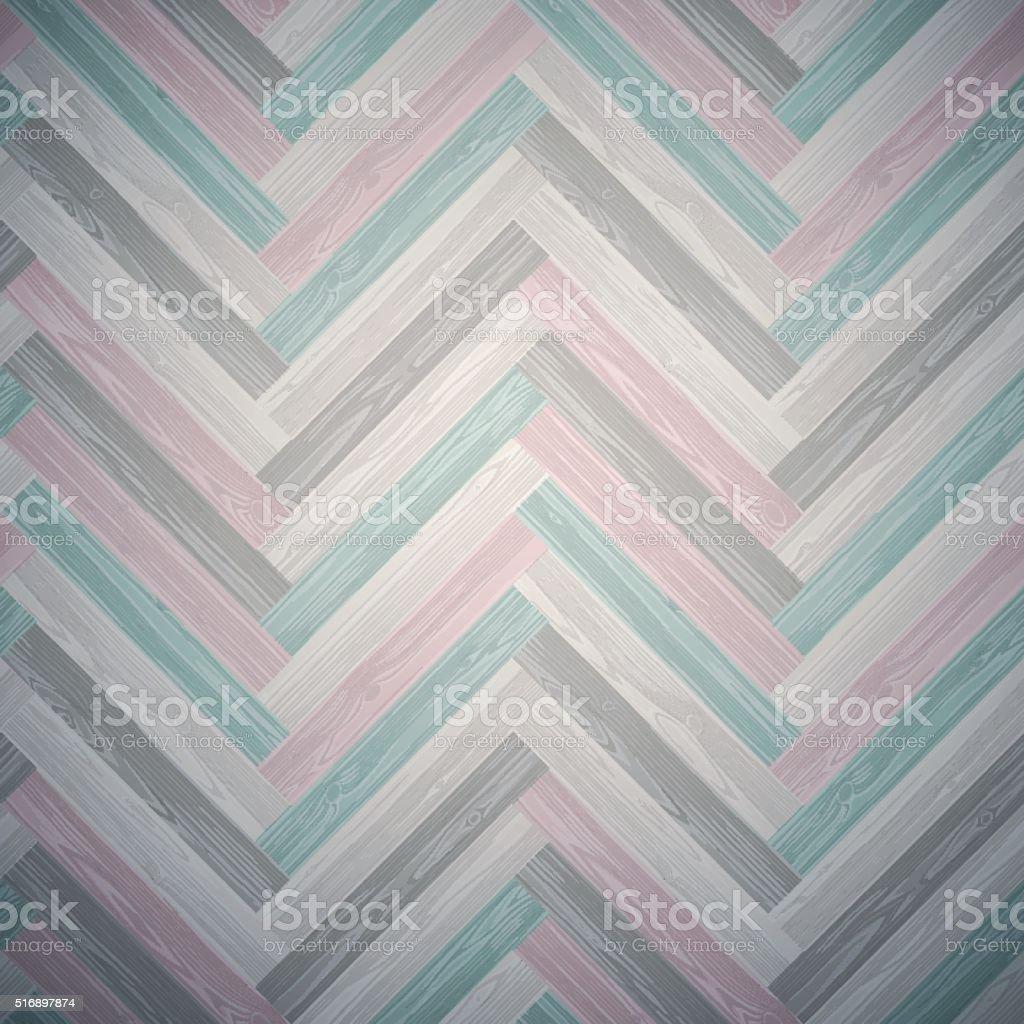 Mixed Herringbone Parquet Floor Pattern vector art illustration
