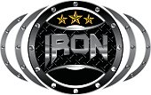 Mixed Martial Arts Letter Iron