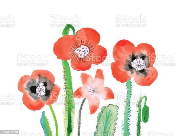 Mixed media illustration of poppies vector id994895784?b=1&k=6&m=994895784&s=612x612&h=cnivmo9rbwgbzd8zi 2ty30vqsruyn4zp69faxkdelc=