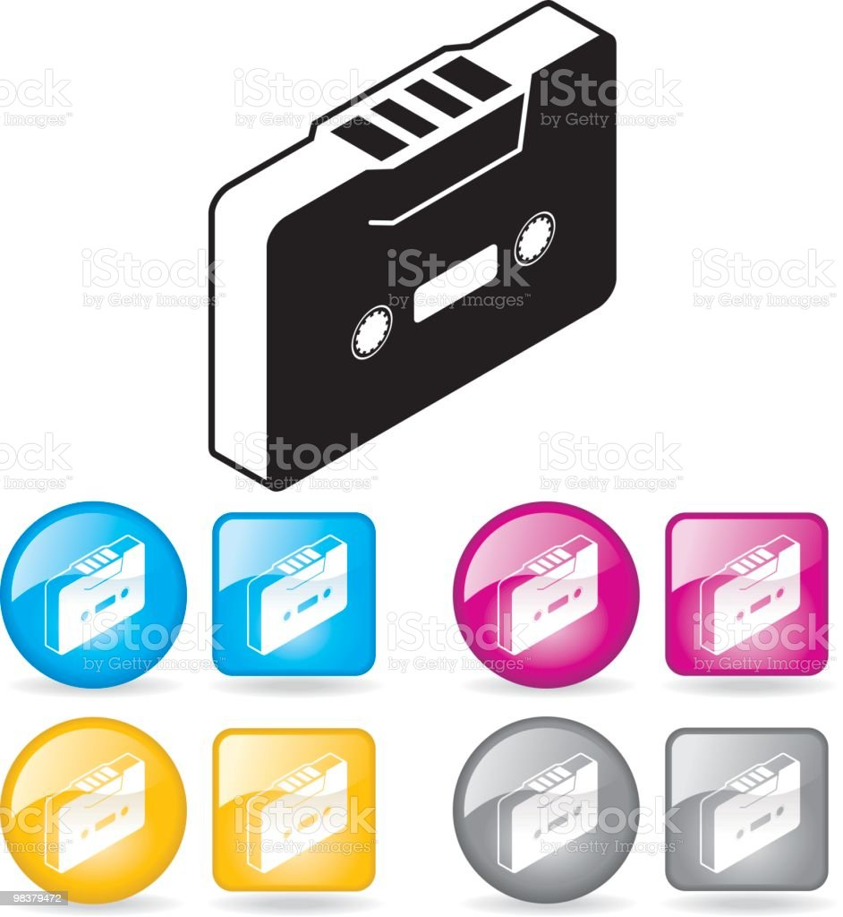 Mixed tape'o'love royalty-free mixed tapeolove stock vector art & more images of audio cassette