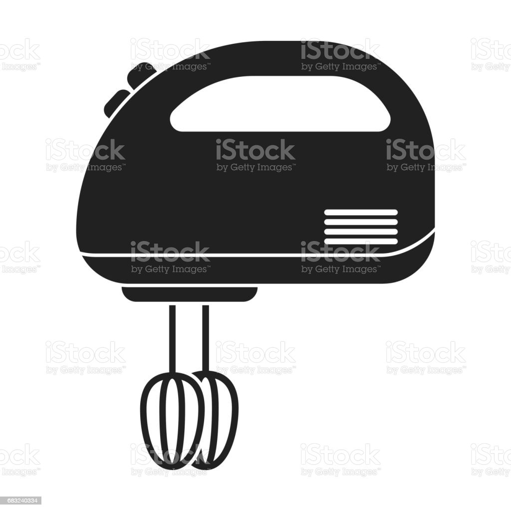 electric hand mixer clip art, vector images & illustrations - istock