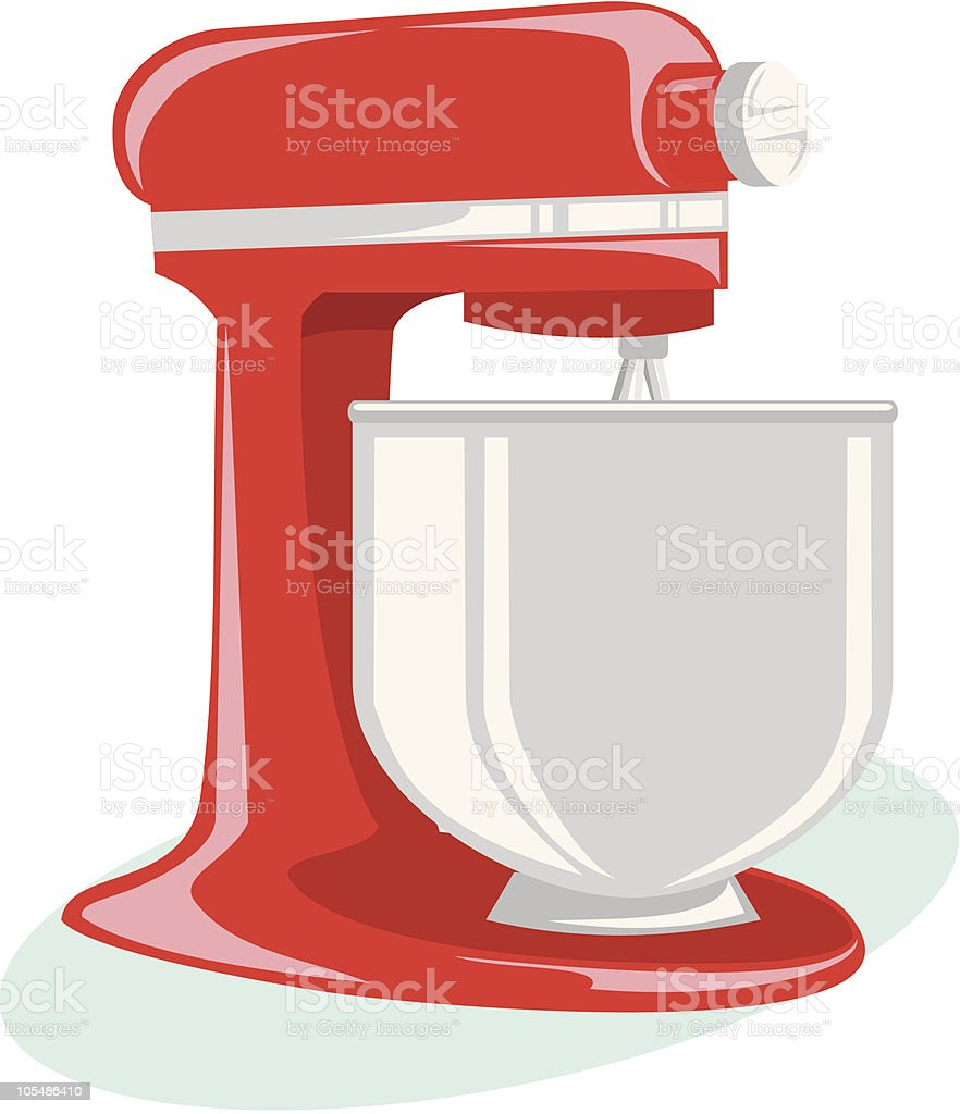 mixer royalty-free stock vector art