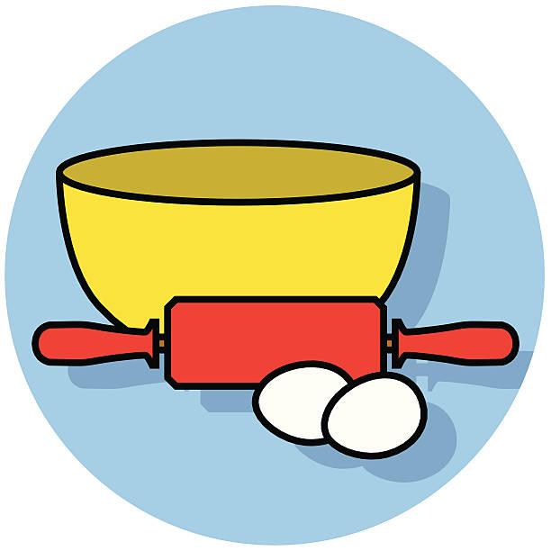 Top 60 Mixing Bowl Clip Art, Vector Graphics and ...
