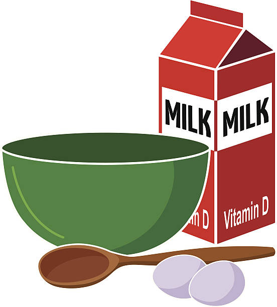 mixing bowl - mixing bowl stock illustrations, clip art, cartoons, & icons