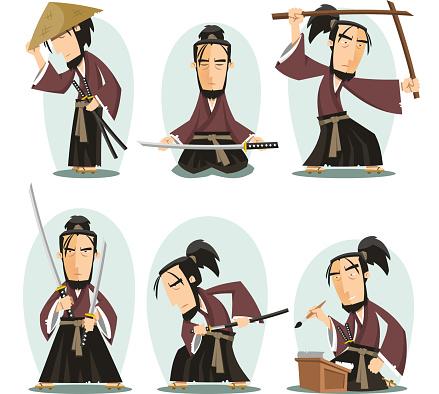 Miyamoto musashi Japanese Samuai Swordsman