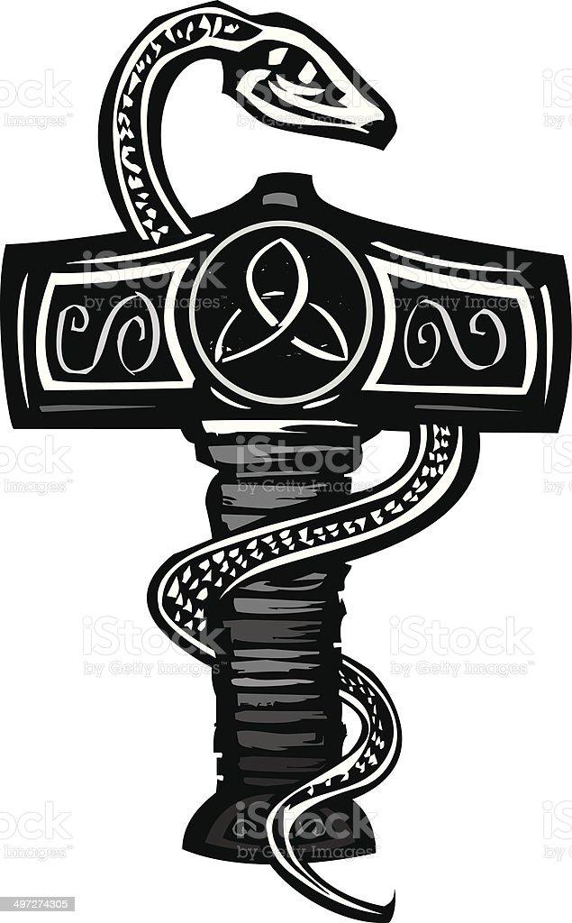 Mjolnir and Serpent