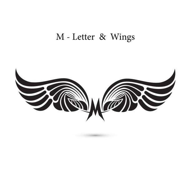 Tattoo Designs With Letter M: Royalty Free Letter M Tattoo Designs Clip Art, Vector