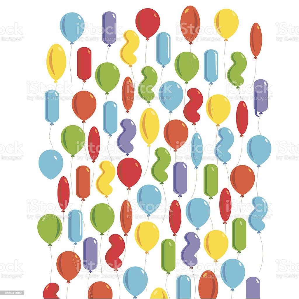 Mo' Balloons vector art illustration