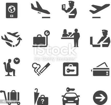 Mobico collection — Airport icons.