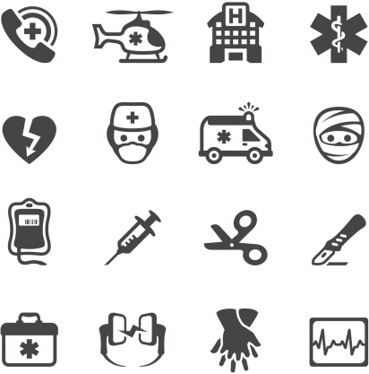 Mobico icons - Emergency Services