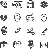 Mobico collection - Ambulance, Emergency and First Aid icons.