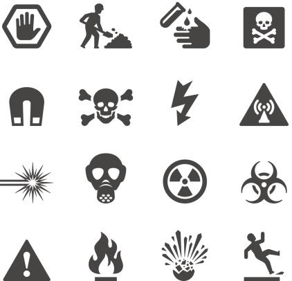 Mobico icons - Hazard and Warning