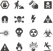 Mobico collection - Hazard and Warning icons.