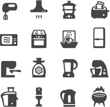 Mobico icons - Kitchen appliances