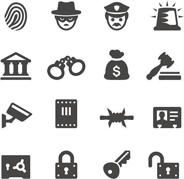 mobico アイコン—法執行および犯罪 - id盗難点のイラスト素材/クリップアート素材/マンガ素材/アイコン素材