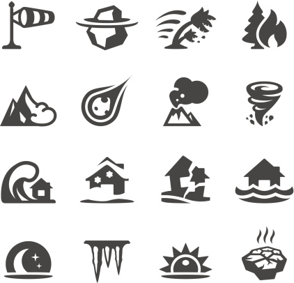 Mobico icons - Natural Disaster