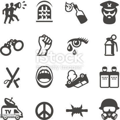 Mobico icons collection - Protest, Riot and Revolution.